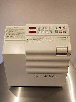 $2199 • Buy Refurbished Autoclave Ritter Midmark M9 Ultraclave Sterilizer Excellent Cond