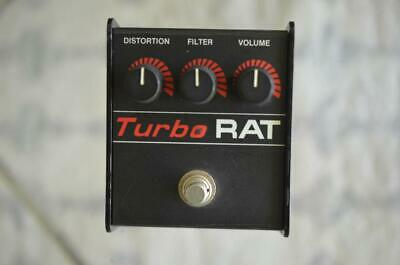 $ CDN241.98 • Buy Pro Co Turbo Rat Vintage Guitar Effects Pedal - Proco Distortion LM308