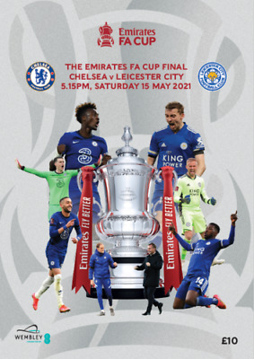 £12.99 • Buy FA CUP FINAL 2021 CHELSEA V LEICESTER MINT PROGRAMME