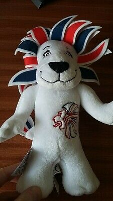 £3.99 • Buy Pride The Lion Team GB London 2012 Mascot Soft Toy With Product Card