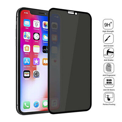 AU5.66 • Buy For IPhone 11 12 Pro Max Ceramic Privacy Soft Screen Protector Film Full Cover
