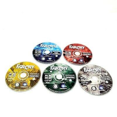 AU12.22 • Buy Far Cry PC Game Original First Discs Only 5 Disc Great Condition Shooter