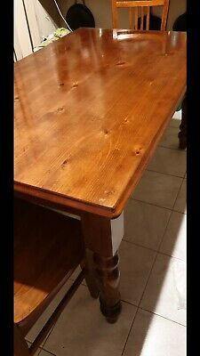 AU180 • Buy Wooden Dining Table With 6 Chairs Excellent Condition