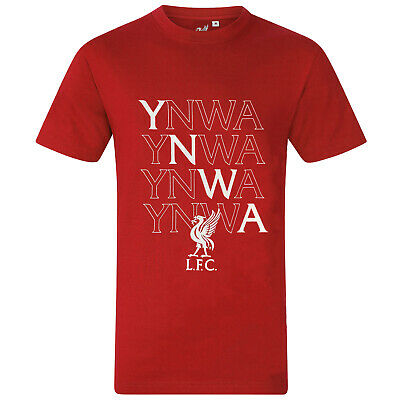 £14.99 • Buy Liverpool FC Mens T-Shirt YNWA Crest Graphic OFFICIAL Football Gift