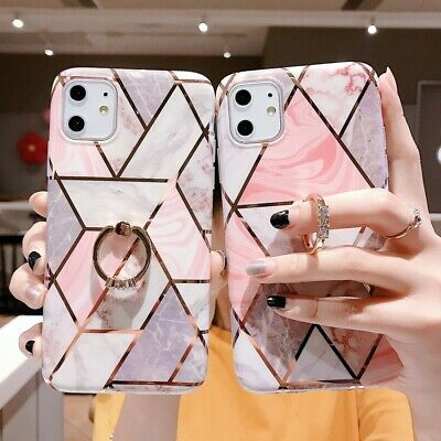 AU9.99 • Buy For Samsung Galaxy A21S S20 S10 S9 S8 Plus Case Marble Shockproof Cover Holder