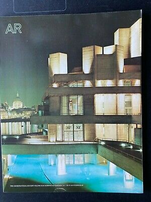£96 • Buy Architectural Review 959 January 1977 National Theatre Special Issue