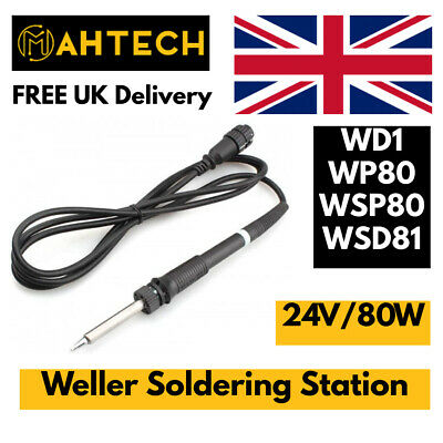 £58.95 • Buy Weller WSP80 Soldering Station Iron Pencil Handle WD1 WP80 WSP80 24V/80W WSD81