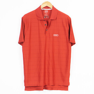 £18.69 • Buy Adidas Relaxed Fit Polo Shirt AUDI Red Mens Size M