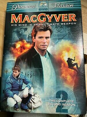 $11.99 • Buy MacGyver The Complete Second 2nd Season DVD W Slipcover 6 Disc Set
