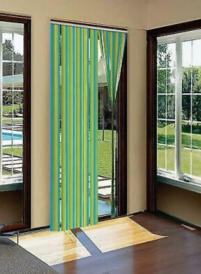 £8.68 • Buy Plastic Strips Insect Control Mosquito Blinds Door Screen Protection Stop Fly Uk