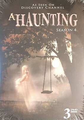 £10.61 • Buy A HAUNTING COMPLETE SEASON 4 New Sealed 3 DVD Set