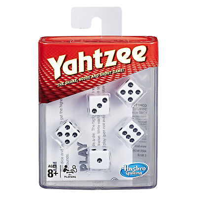 £12.98 • Buy Yahtzee Classic Game, Sleek Shaker And Five Dice, Official Toy