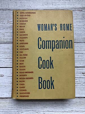 £33.06 • Buy Vintage Woman's Home Companion Cookbook 1953 1950's Housewife Recipes