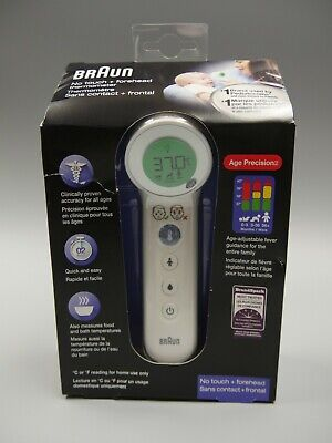 $ CDN84.88 • Buy Braun 3-in-1 No Touch Thermometer Age Precision BNT400CA NEW SEALED