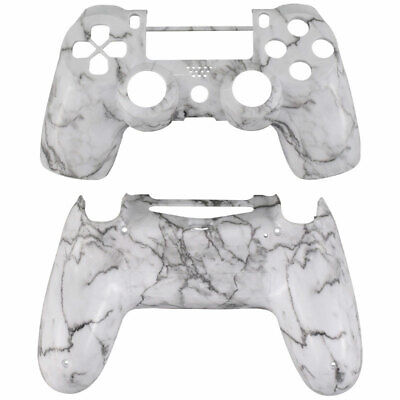 AU33.07 • Buy Marble Grain PS4 Slim Pro Controller Shell Case Mod Kit Faceplate Replacement