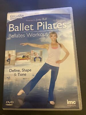 £2.49 • Buy Ballet Pilates Ballates Workout Dvd With Dvd Case And Free Postage