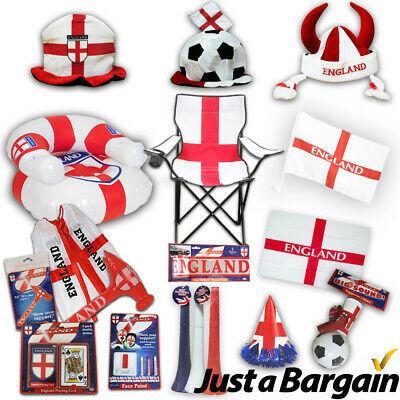 £4.99 • Buy England Fa Merchandise Euros 2020/21 - Flags, Hats, Bunting, Chairs & More