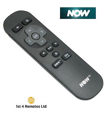 £5.99 • Buy Now Tv Replacement Smart Remote Control For Sky Now Tv Box Roku 1 2 3 Brand New