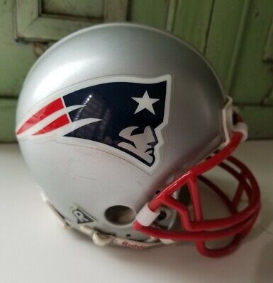 $14.50 • Buy New England Patriots RIDDELL Mini Helmet Authentic Replica NFL 1995 Pre-owned