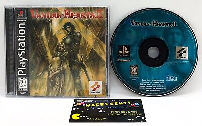 £151.86 • Buy Vandal-Hearts 2 (Sony PlayStation 1, 1999) Complete W/ Case & Manual MINTY CLEAN