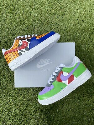 £90 • Buy Custom Air Force 1 Trainers Kids Toy Story Size 11
