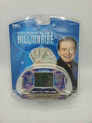 £23.39 • Buy Who Wants To Be A Millionaire Handheld Electronic Game Tiger 2000 --New Sealed