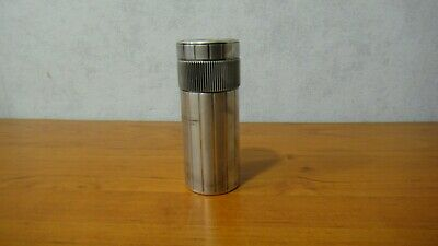 £177 • Buy Rare Vintage S T Dupont Cylinder Lighter Silver Plated For Spare Parts Repair