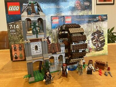 £75 • Buy Lego Pirates Of The Caribbean The Mill (4183) With Box + Instructions