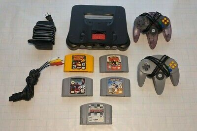 $ CDN300 • Buy Nintendo 64, N64 System / Console Bundle + Cables + 2 Controllers