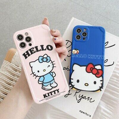 AU11.71 • Buy Cute Cartoon Hello Kitty Matte Case Cover For IPhone 12 11 Pro Max XS X 7 8 Plus