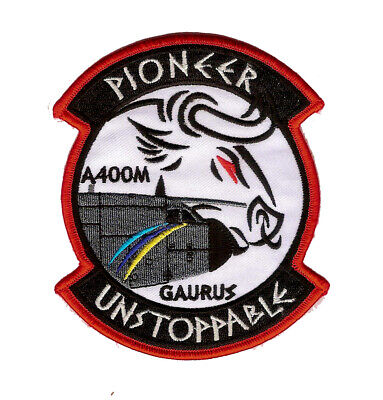 £15.94 • Buy Royal Malaysian Airforce 22 Sqn A400m Pioneer White Patch