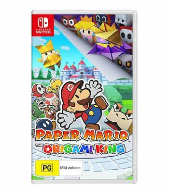 AU45 • Buy Paper Mario: The Origami King Game - Nintendo Switch