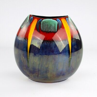 £130 • Buy Poole Pottery, Large Purse Vase, 10 Inches