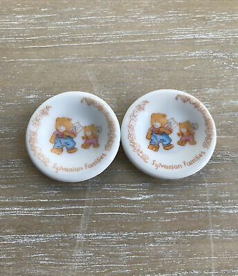 £12.99 • Buy Vintage Sylvanian Families Ceramic China Plate Decorative Calico Critters