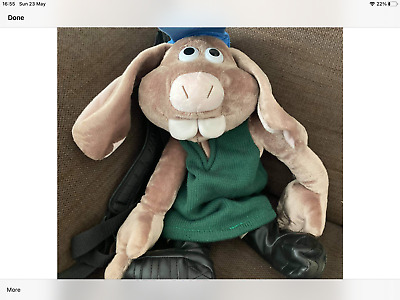 £130 • Buy Rare Wallace And Gromit Curse Of The Were Rabbit Rucksack Backpack