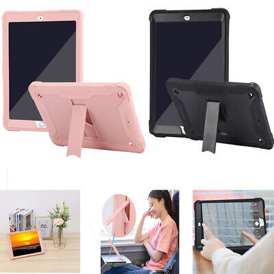 £6.79 • Buy For IPad 10.2inch Shockproof Durable TPU Silicone Tablet Case Cover W/Bracket
