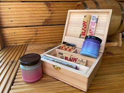 £19.99 • Buy Cupids Box Summer Rolling Set With Box A Stash Jars