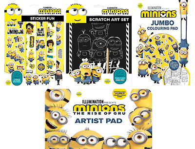 £7.45 • Buy Minions (Alligator) - Activity, Colouring & Art Sets For Children