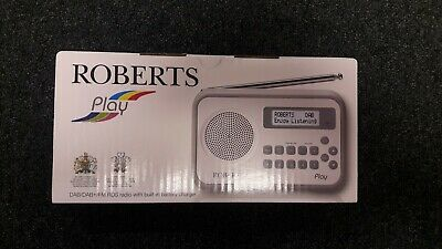 £36.80 • Buy Roberts Play DAB / DAB+ / FM RDS Portable Rechargeable Radio BRAND NEW