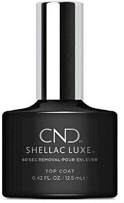 £5.99 • Buy CND Shellac Luxe Gel Top Coat