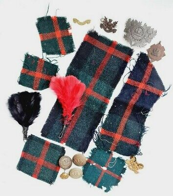 £16 • Buy SA Army Transvaal Scottish WW2 Badges, Hackles, Patches & Buttons. Ref 76UN