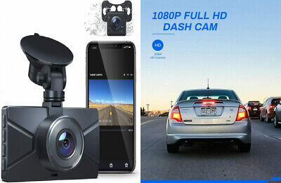 AU99.83 • Buy Dash Cam Front And Rear, WiFi For Cars Crosstour 1080P Car Camera...