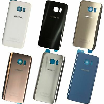 $ CDN6.49 • Buy New Samsung Galaxy S7 And S7 Edge Rear Back Glass Battery Cover
