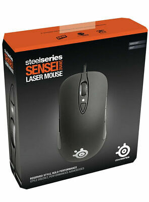 £46.52 • Buy SteelSeries Sensei Laser Gaming Mouse RAW - Rubberized Black