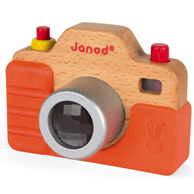 £14.25 • Buy Janod Wooden Camera With Sounds - Young Children's Fake Pretend Play Camera