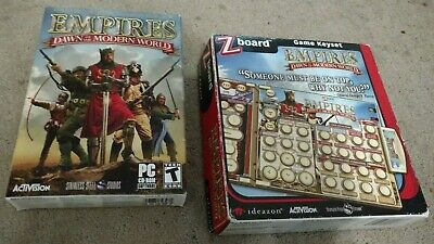 £21.60 • Buy Empires Dawn Of The Modern World (2003) Small Box PC COMPLETE! W/ Zboard Keyset
