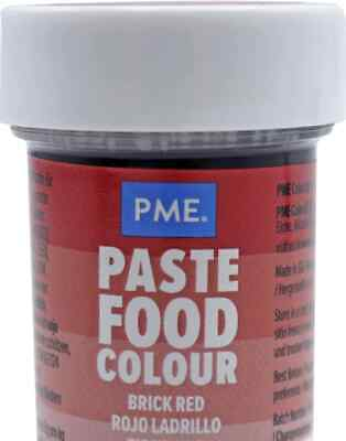 £2.88 • Buy PME Paste RED Colour FOOD COLOURING Paste Gel RED Apricot Crush 25 G