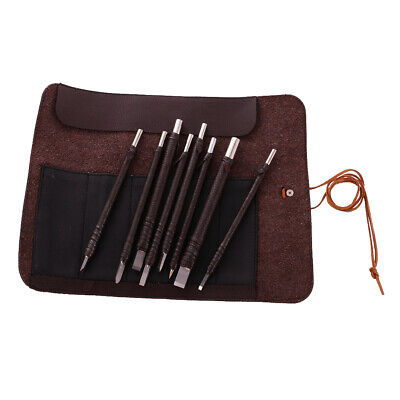 £13.12 • Buy Set Of 8 Chisel Stone Wood Carving Supplies Seal Engraving Set Hobby Craft Tool