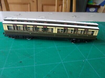 £18 • Buy Hornby R122 Clerestory Composite 1602 In GWR Chocolate & Cream