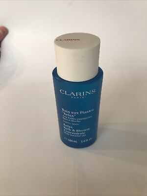 £11.99 • Buy NEW Unused Clarins Bath & Shower RELAX Concentrate Gel 100ml Essential Oils